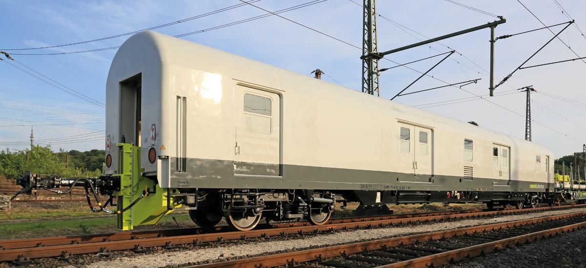 RailAdventure dmz Kupplungsadapterwagen