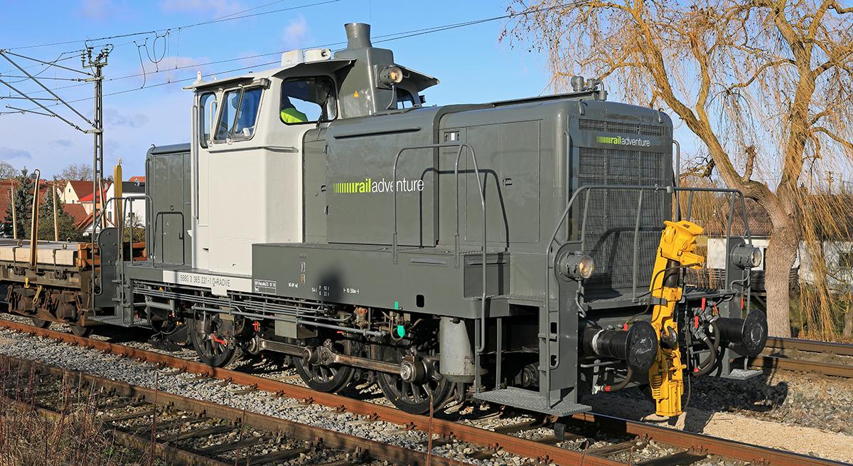 RailAdventure Lok V60