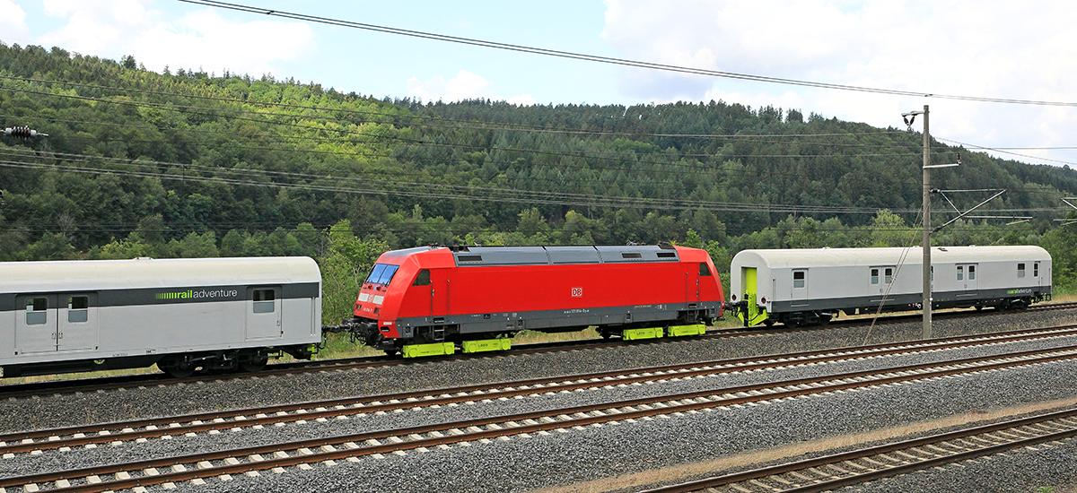 RailAdventure Loco Buggy Dmz DB-Lok