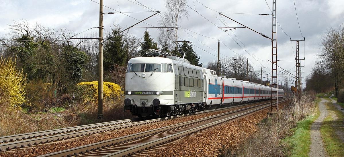 RailAdventure Probefahrt Testfahrt 103 222