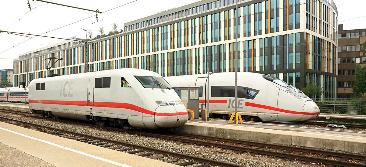 RailAdventure Überführung ICE München Hbf