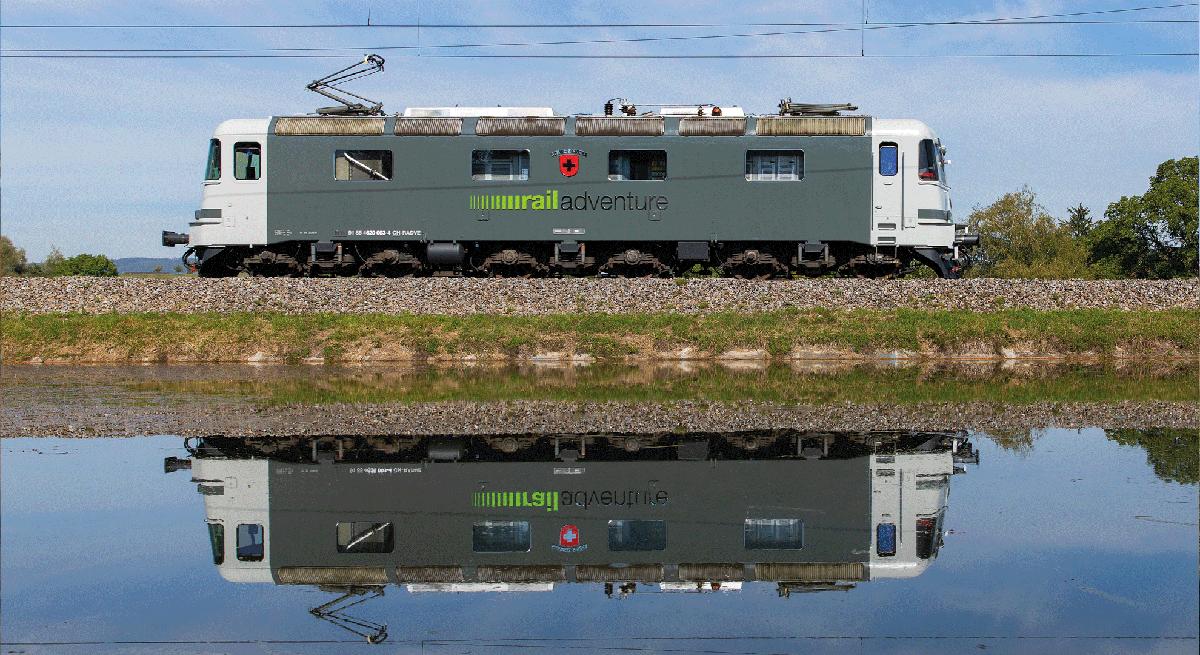 RailAdventure Lok Schweiz re6-6