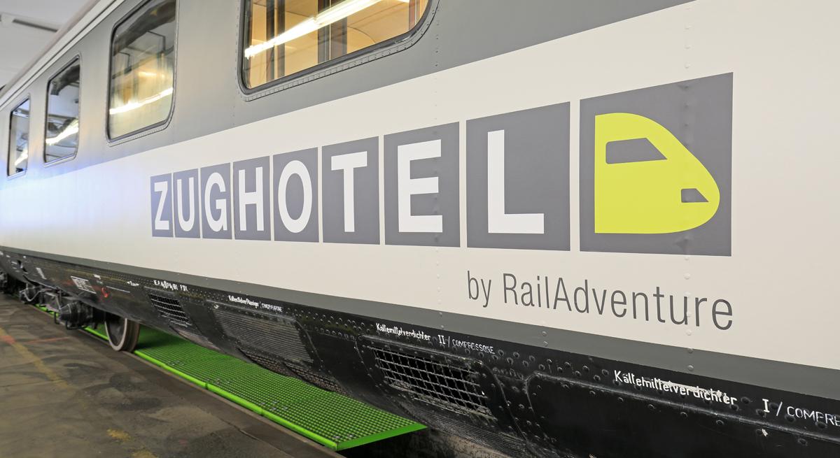 RailAdventure Zughotel Logo VT 601