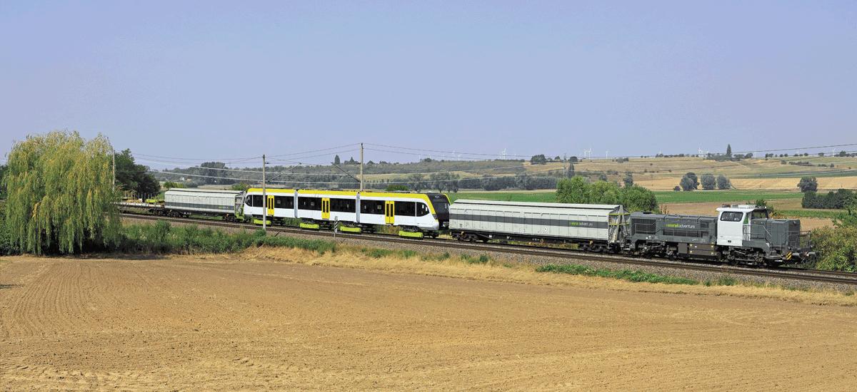 RailAdventure Transport Schönbuchbahn DE18 Loco Buggies