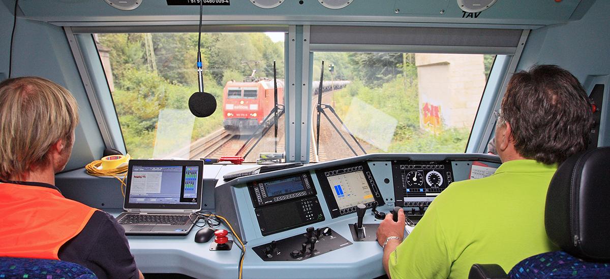RailAdventure Probefahrt Testfahrt Führerstand
