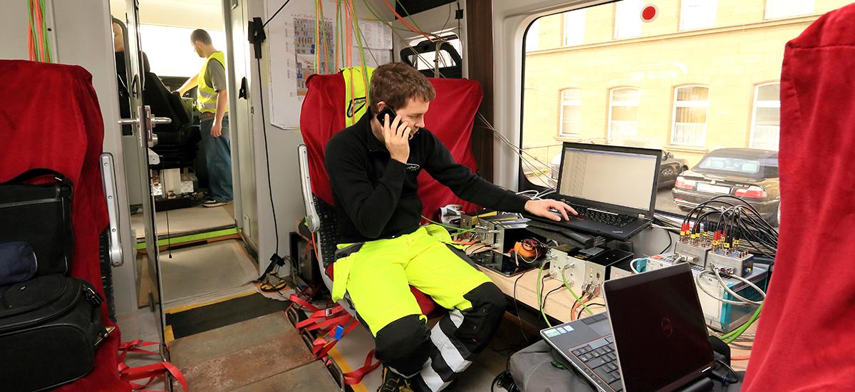 RailAdventure Probefahrt Messung 1
