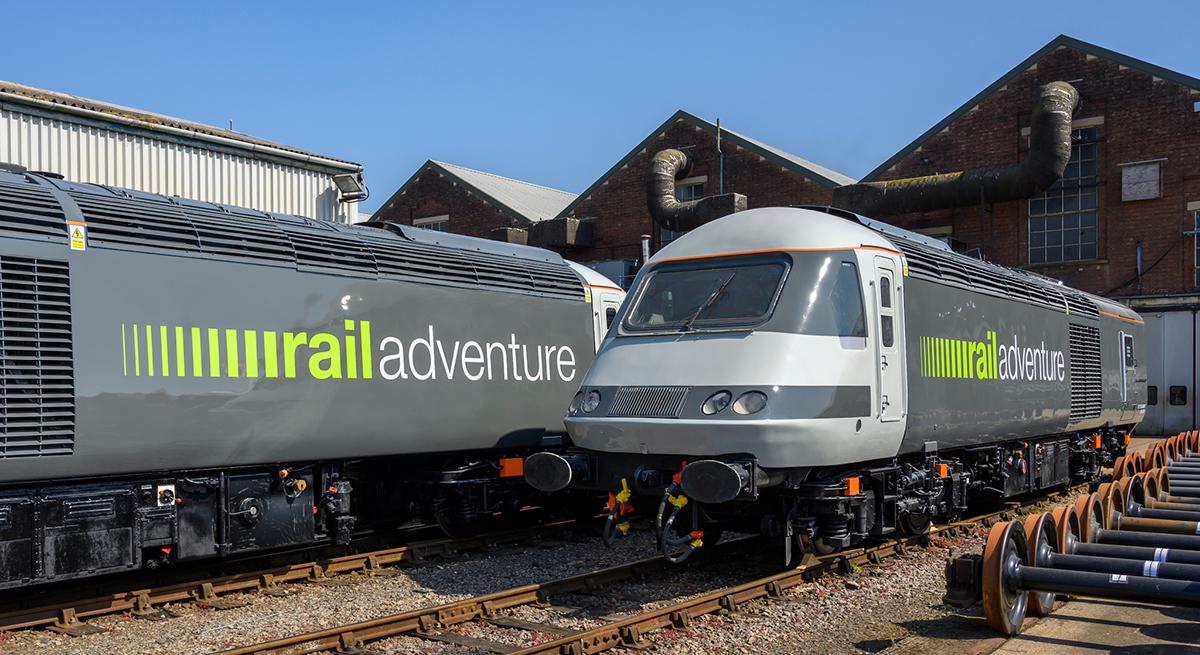 RailAdventure Class 43 Triebköpfe UK