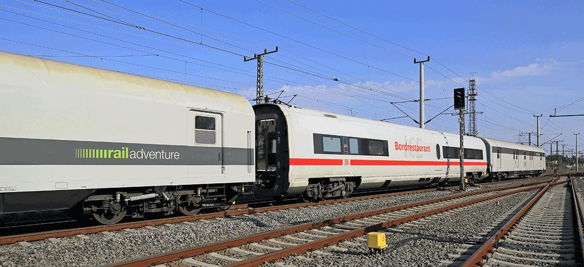 RailAdventure Transport ICE Bordrestaurant