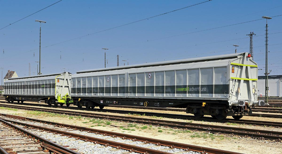 RailAdventure Kuppelwagen Habfis