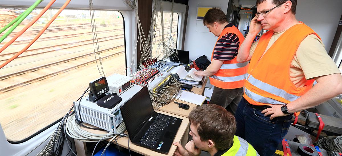 RailAdventure Probefahrt Messung 3
