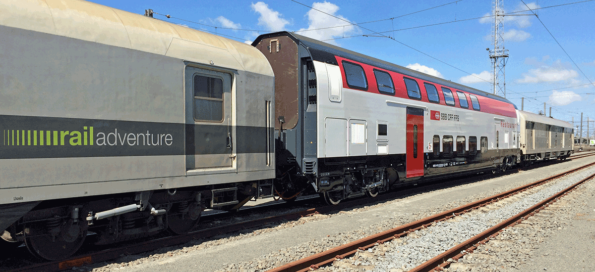 RailAdventure Transport SBB Bordrestaurant