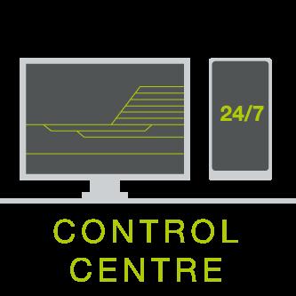 RailAdventure Control centre